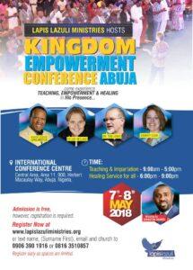 Kingdom Empowerement Conference 2018, Abuja