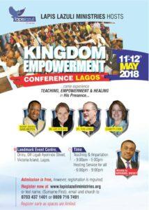 Kingdom Empowerement Conference 2018, Lagos