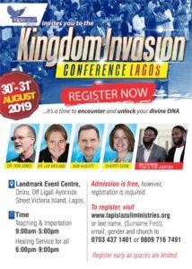 Kingdom Invasion Conference 2019, Lagos