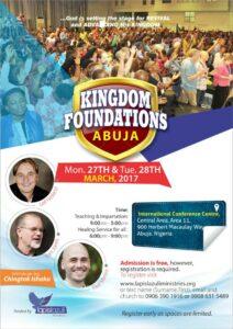 Kingdom Foundations Conference 2017, Abuja